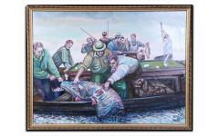 Картина Богатый улов