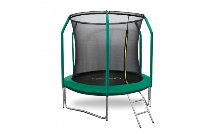 Батут Oxygen Fitness Premium 8 ft inside (Dark green)