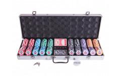 Набор для покера Premium Crown на 500 фишек