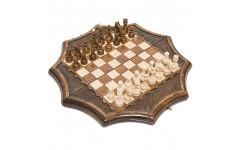 Шахматы резные Декагон 30 Ohanyan
