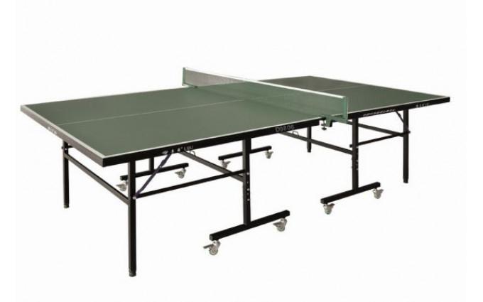 Теннисный стол всепогодный LIJU, 15 мм, колеса 50 мм, зеленый D9806