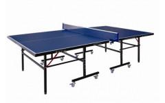 Теннисный стол LIJU, 15 мм, колеса 50 мм, синий DW9015