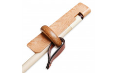 Фиксатор для приклеивания наклейки деревянный