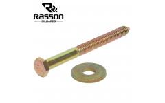 Болт крепежный Rasson для борта стола М11 х 120мм