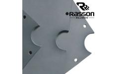 Плита для бильярдных столов Rasson Original Premium Slate 8фт h25мм 3шт.