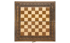 Доска шахматная резная Лотос 40, Haleyan