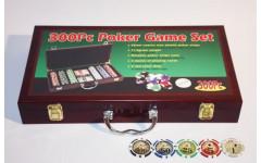 Набор для покера Wood на 300 фишек- Уцененный