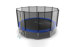 Батут EVO JUMP External 16ft (Blue) + Lower net